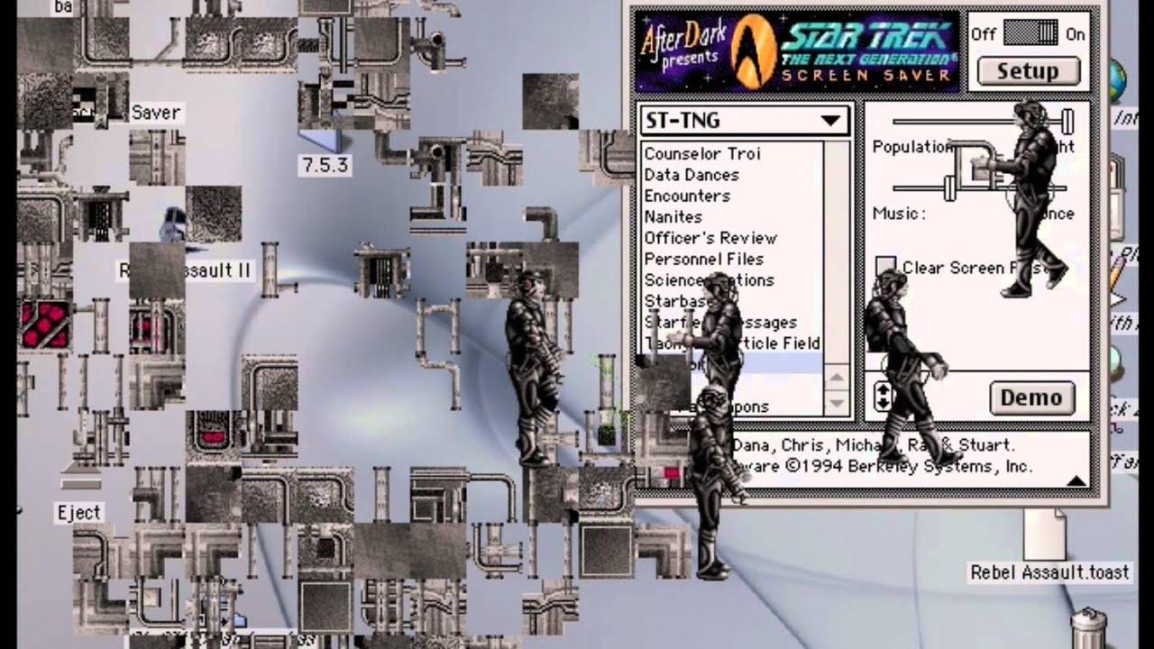Star Trek Screensavers For Windows 10: Star Trek: The Next Generation Screensaver