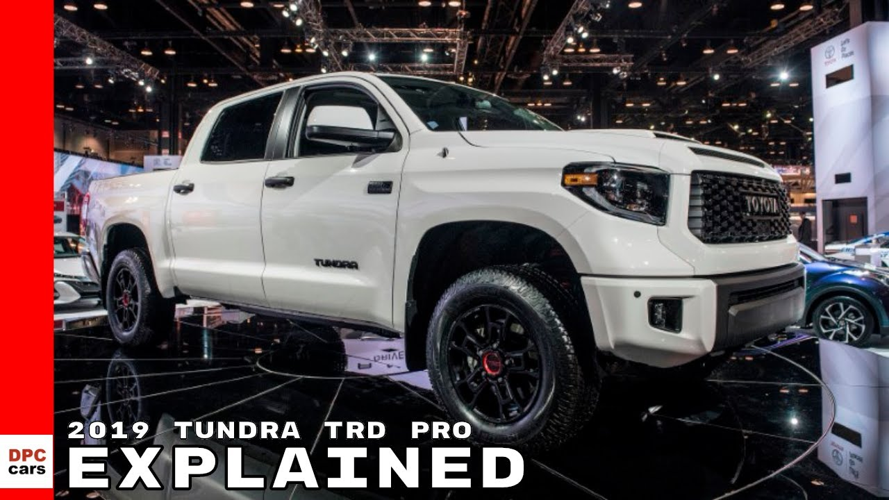 2019 Toyota Tundra TRD Pro Explained - YouTube
