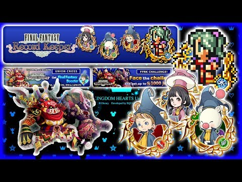 KHUX & FFRK Collaboration (1 PULL) ~ Everything You Need To Know