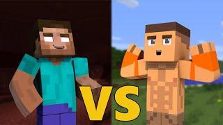 Herobrine VS John Cena - Minecraft
