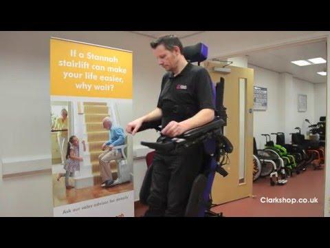 Sunrise Medical Jive Up Standing Wheelchair