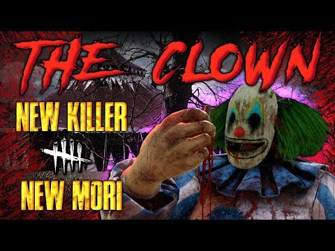 THE CLOWN! New KILLER + MORI - Dead by Daylight with HybridPanda
