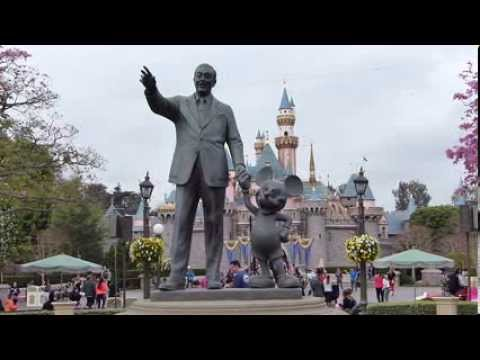 Partners Statue At Disneyland Walt Disney Mickey Mouse 2014
