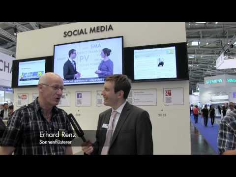 Energieblogger auf der Intersolar 2013