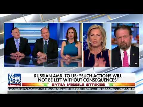 Sebastian Gorka unleashes on Fox panel in defense of Syrian strike