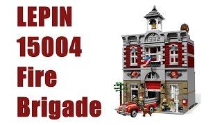 Lepin 15004 Fire Brigade