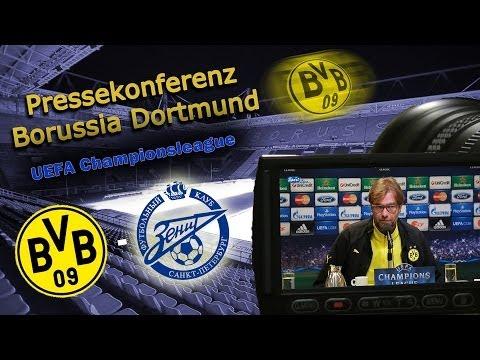 Pressekonferenz Borussia Dortmund - Zenit St Petersburg 1:2 - Pk mit Jürgen Klopp