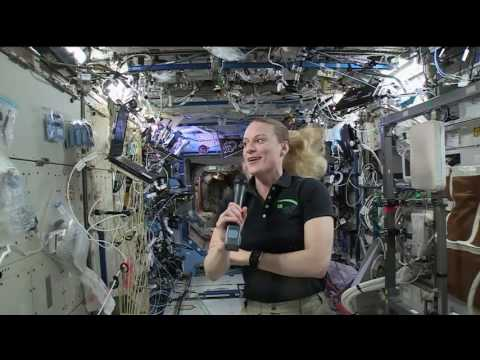 Station Crew Member Discusses Life in Space with Radio Reporters