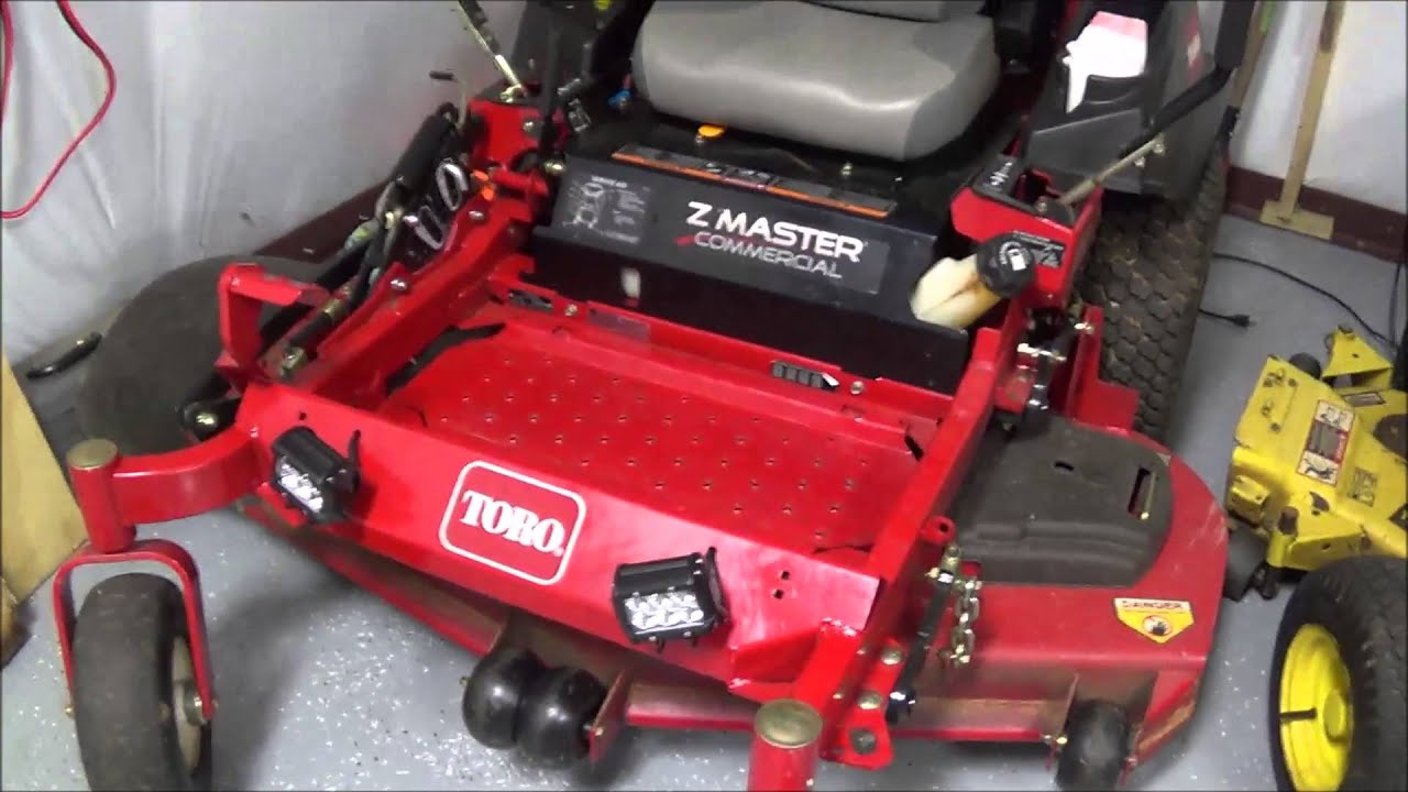 maxresdefault toro z master exmark lazer z led spotlights youtube Raptor Zero Turn Mowers at honlapkeszites.co