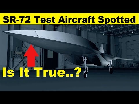 SR-72 Hypersonic Test Aircraft Spotted at a Skunk Works facility, Is It True.?
