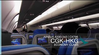 FRP S2E13 - Cathay Pacific CX798 Red-eye Flight Experience | Jakarta CGK - Hong Kong HKG