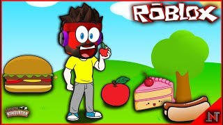 ROBLOX Indonesia #158 Mining Simulator | Update FoodLand surprisingly good food