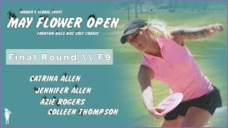 2018 WGE May Flower Open \ Final Rd | F9 | FPO \ Allen, Allen, Thompson, Rogers