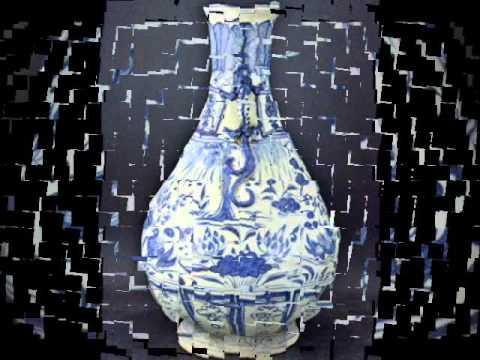 blue u0026 white vase yuan dynasty