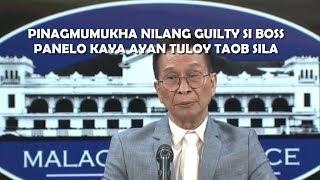 Spox Panelo, media on Mayor Sanchez, Ano masasabi niyo dito?
