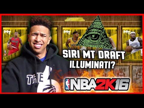 SIRI MyTeam DRAFT CHALLENGE! HILARIOUS DRAFT! ILLUMINATI AF!  PART 1 NBA 2K16 MyTeam Gameplay