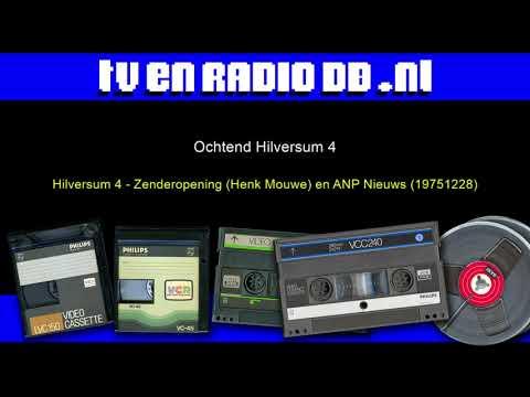 Radio: Hilversum 4 - Zenderopening (Henk Mouwe) en ANP Nieuws (19751228)