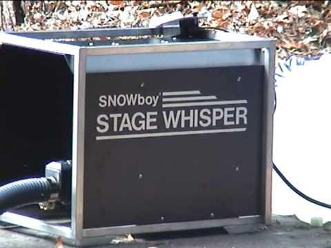 SNOWboy Stage Whisper