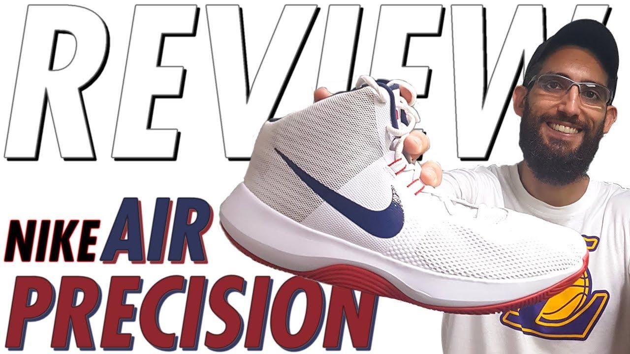 8b1e911202b Análise tênis Nike AIR PRECISION (Review Nike AIR PRECISION ptbr) - Canal  21onze Tênis de Basquete
