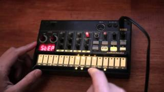 Korg Volca Beats - Drum and Bass Tryout