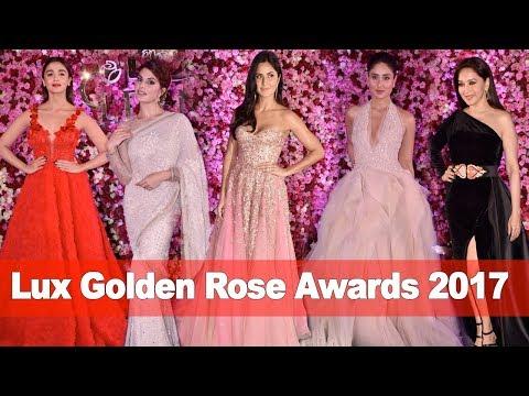 Lux Golden Rose Awards 2017 Full HD Video   Katrina,Kareena,Jacqueline,Alia,Madhuri And Many more