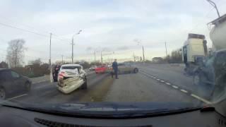 ДТП трасса М5 Заозерье. Уснул на фуре?