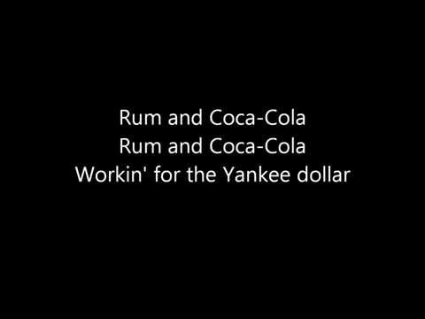 The Andrews Sisters - Rum and Coca-Cola (Lyrics)
