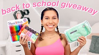 HUGE Back To School Giveaway 2020 | CLOSED