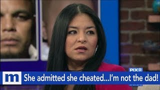 She admitted she cheated...I'm not the dad! | The Maury Show