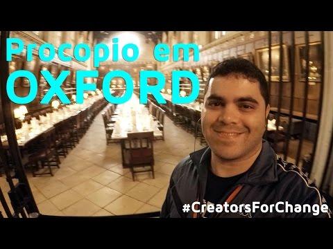 Procopio na Universidade de Oxford e Harry Potter | #CreatorsForChange | Procopio no Mundo