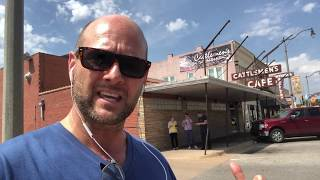 RICH CELENZA - Visits the original Stock Yard City / Cattlemen's Steak House, Oklahoma City