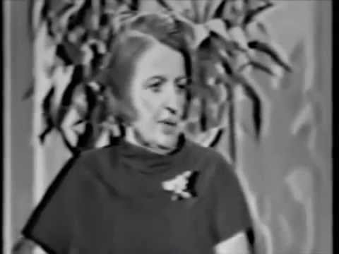 Ayn Rand on The Tonight  with Johnny Carson 1967 Full