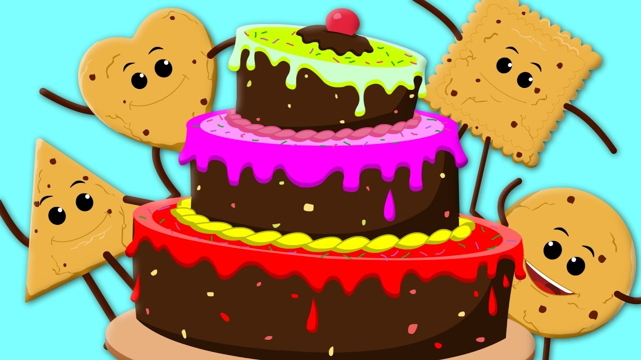 Cake Song Happy Birthday Song Nursery Rhymes Cookie Song