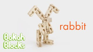 How to Build a Rabbit with Bokah Blocks
