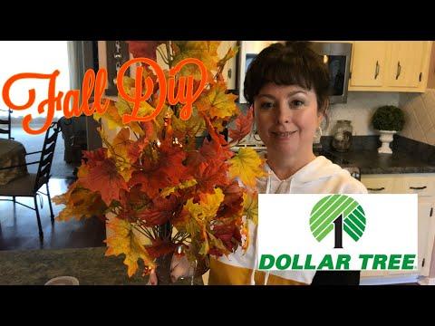 Dollar Tree Fall Tree Diy So Easy 2019