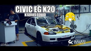 Civic EG Dolphin K20 DC5 Type R Swap by RM Garage