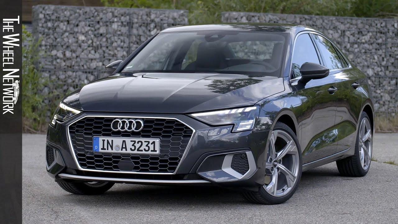2021 Audi A3 Sedan 35 TFSI | Manhattan Grey | Driving ...
