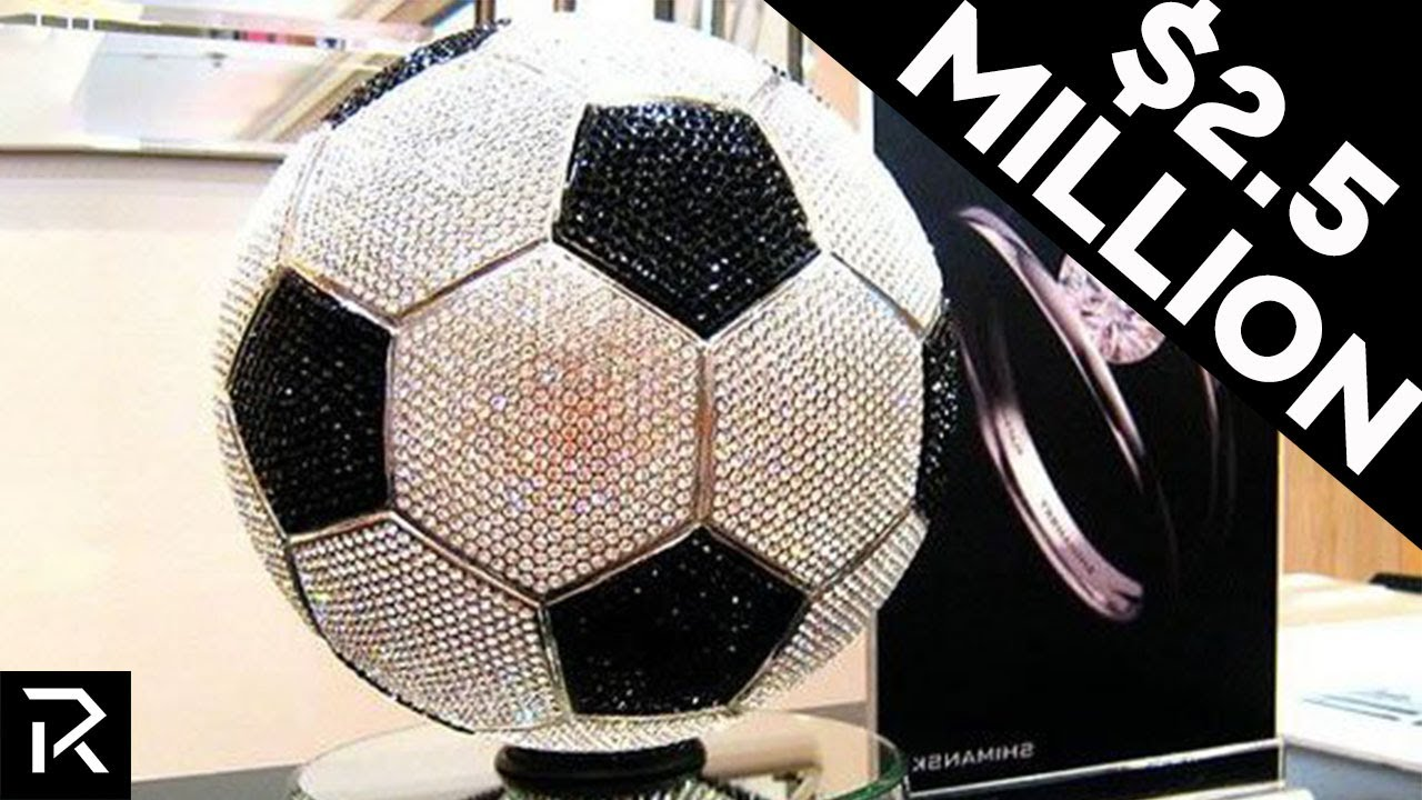 This Soccer Ball Made Of Diamonds Costs $2.59 Million Dollars