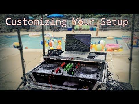 How To Customize Your DJ Set-Up/ Case | DJ Tips