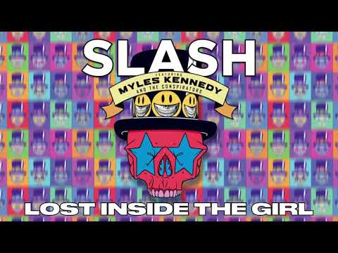 "SLASH FT. MYLES KENNEDY & THE CONSPIRATORS – ""Lost Inside The Girl"" Full Song Static Video"