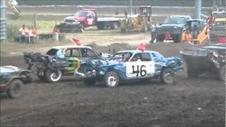 Central Montana Demolition Derby 2011 Main Event