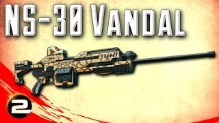 NS-30 Vandal Review (Infiltrator Semi-Auto Scout Rifle) - PlanetSide 2