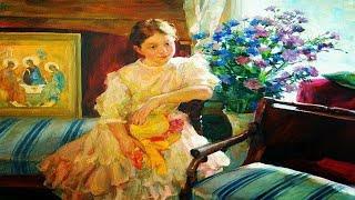 Дети в жанровых картинах советских художников