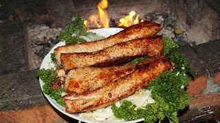 Шашлык из корейки. Готовим сочную свинину, оригинально порезанную, на углях.(Видео рецепт приготовления шашлыка из свиной корейки. Мясо нарезается длинными полосками, маринуется в..., 2016-10-12T16:47:40.000Z)