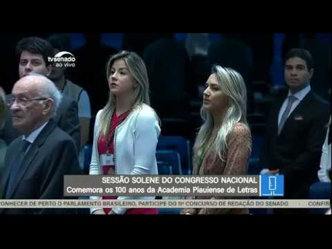 Sessão Solene - TV Senado ao vivo - Congresso - 21/05/2018