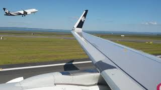 Air New Zealand Airbus A321-271 NEO Landing Auckland Airport