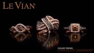 Le Vian Chocolate Diamonds at Robert Irwin Jewelers