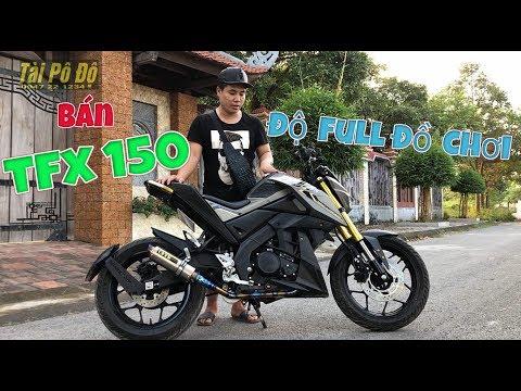 [Bán Xe] TFX150 Full Đồ Chơi Ngon   Ông Trùm Nake biker 150cc   Tài Pô Độ   0947.22.1234