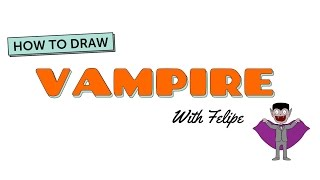 How to Draw A Cartoon Vampire(Halloween is coming, celebrate with your children with How to Draw A Cartoon Vampire !! Download FREE Childrens stories, songs, and a lot of other goodies ..., 2014-10-28T00:53:51.000Z)