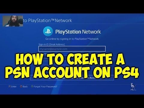 How To Create A PSN Account On PS4 (Beginner Tutorial)